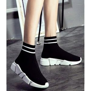 "Womens ""Tyga"" Ultra Lightweight High Sock Sneakers"